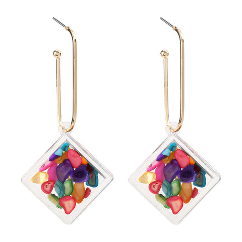 Colorful Geo Dangles