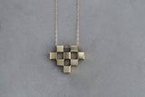 Tiny Heart Cubic Necklace