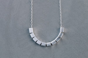 Tiny Round Necklace