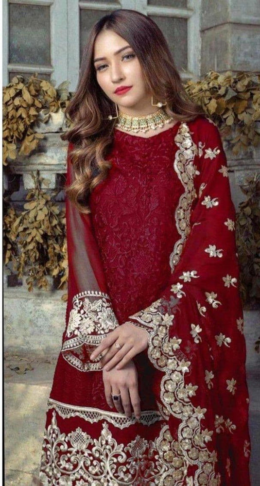 [Agha Noor Chiffon Suit] | Replica Zone.