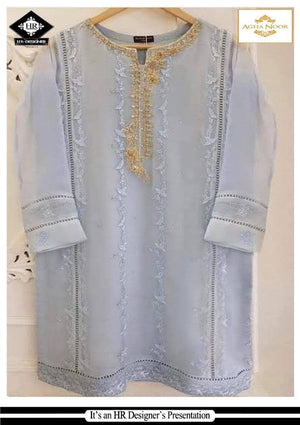 [Agha Noor Organza Suit] | Replica Zone.