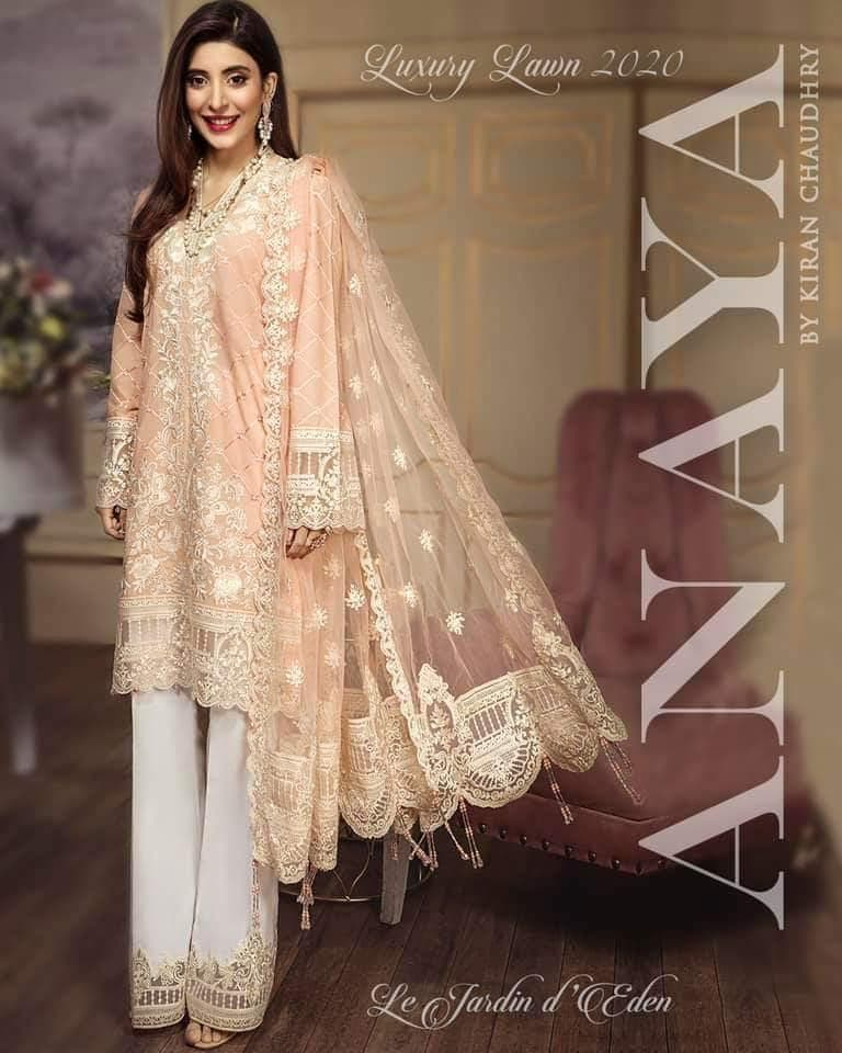 Anaya Lawn Suit Lawn Suits Anaya