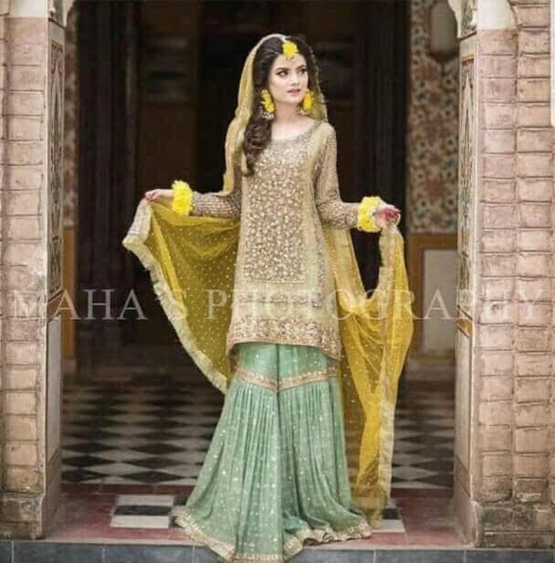 [Atif Riaz Net Bridal Suit] | Replica Zone.