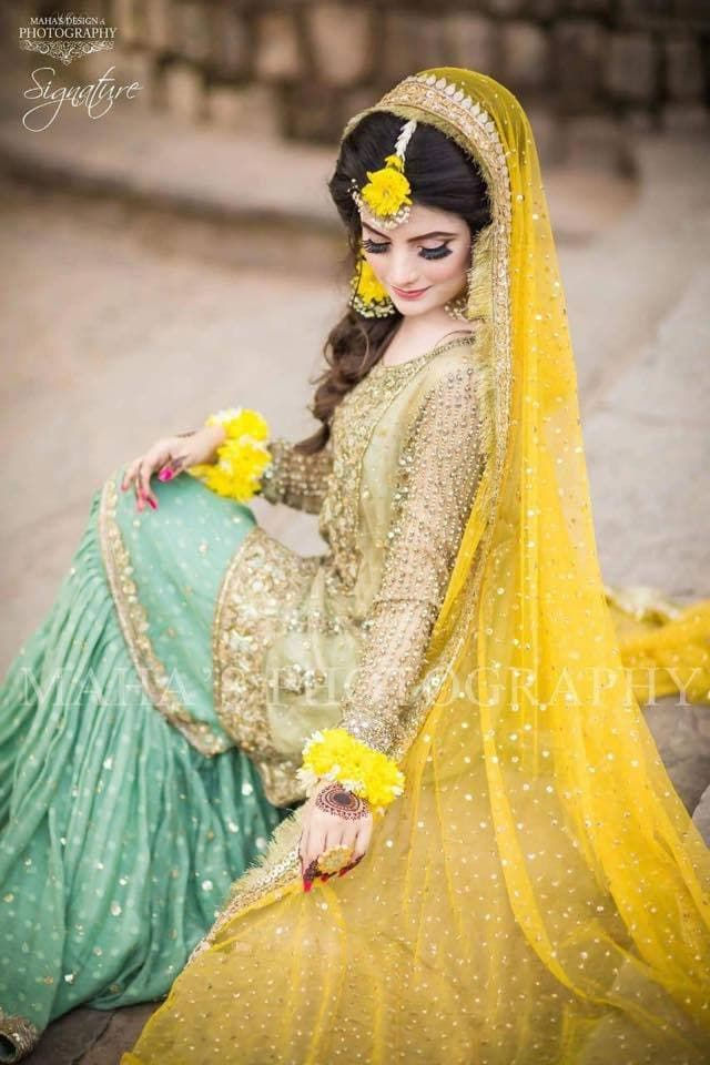 Atif Riaz Net Bridal Suit