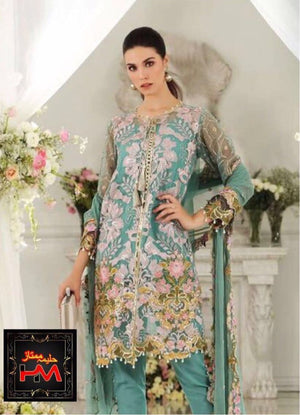 [Gul Ahmed Chiffon Suit] | Replica Zone.
