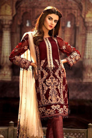 [Gulaal Chiffon Suit] | Replica Zone.