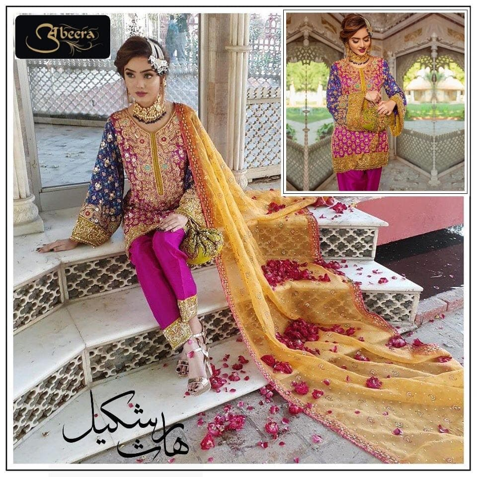 [Haris Shakeel Chiffon Suit] | Replica Zone.