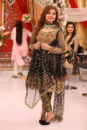 [Kashees Net Bridal Suit] | Replica Zone.