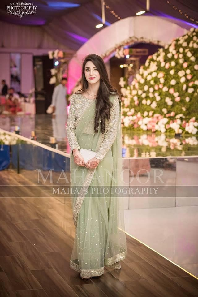 Maha Net Bridal Saaree