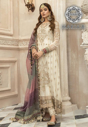 Maria B Chiffon Suit Replica Suits Maria B