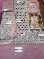 Maria B Organza Suit Replica Suits Maria B