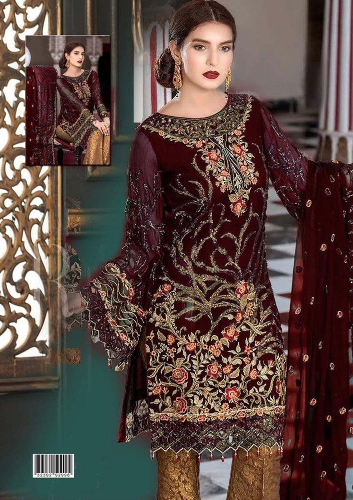 Maryams Chiffon Suit