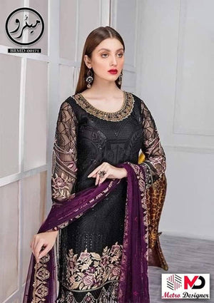 Minhal Chiffon Suit Replica Suits Replica Zone