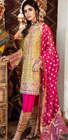 Nimra Khokhar Chiffon Suit Replica Suits Replica Zone