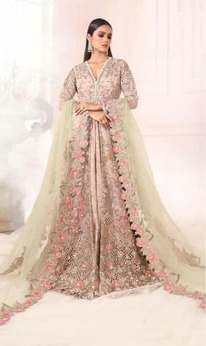 [Sana Safinaz Net Bridal Suit] | Replica Zone.
