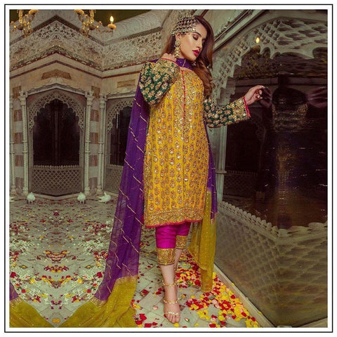 Sobia Nazir Chiffon Suit Replica Suits Sobia Nazir