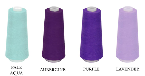 Embroidery Thread Color Purples