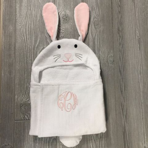 Kids and Babies, Hooded Bath Wrap, Bunny