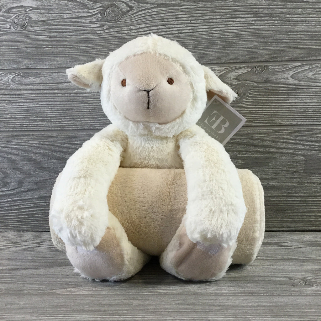 Kids and Babies, Stuffed Lamb with Blanket