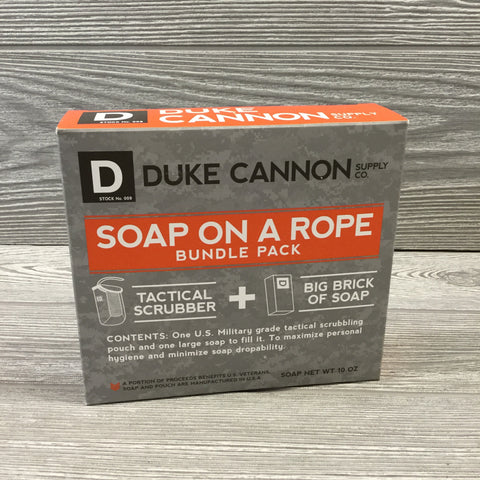 Duke Cannon, Soap On A Rope, Bundle Pack