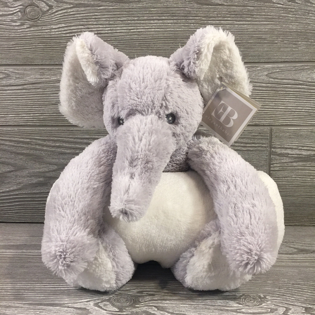 Kids and Babies, Stuffed Elephant with Blanket