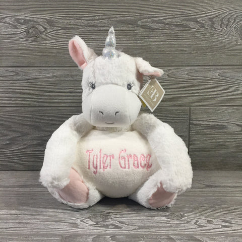 Kids and Babies, Stuffed Unicorn with Blanket