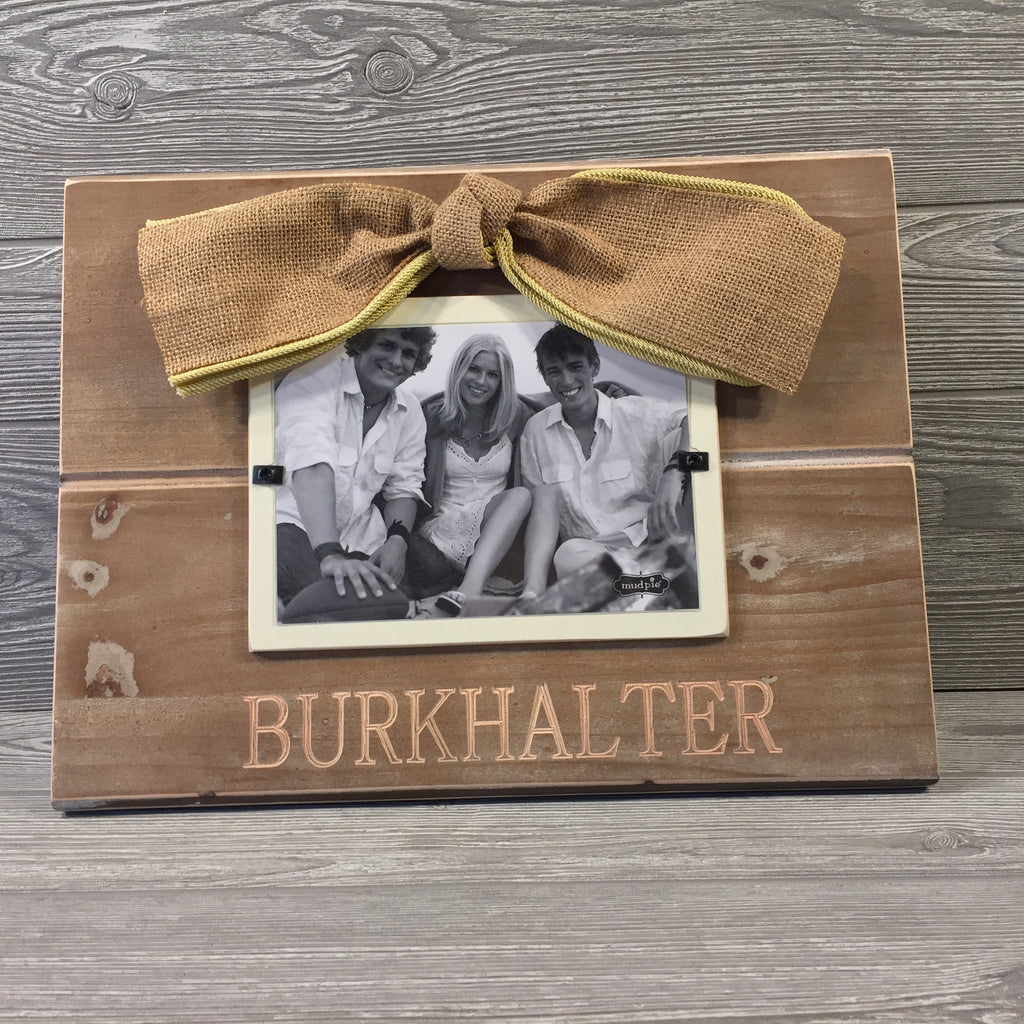 "Natural Wood Picture Frame, Large for 5"" x 7"" Photo"