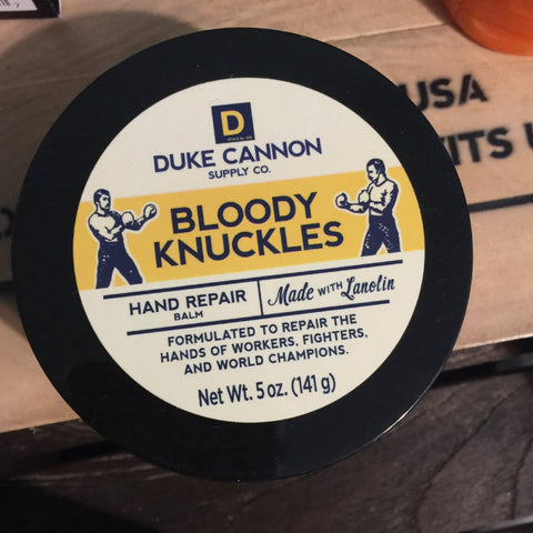 Duke Cannon, Bloody Knuckles Hand Repair Balm