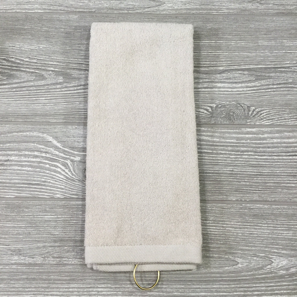 Sports Towel Colored Golf And Tennis Standard With Brass Hook Microfiber