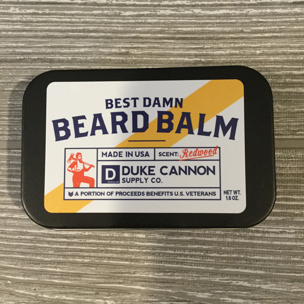 Duke Cannon, Best Damn Beard Balm