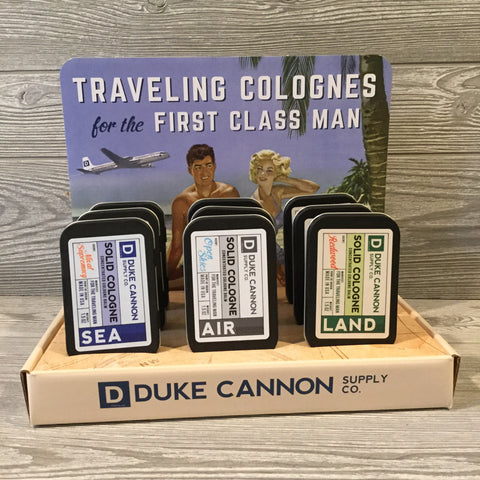 Duke Cannon, Solid Colognes