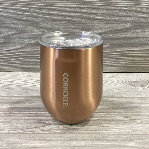 Corkcicle, 12oz Stemless, Copper