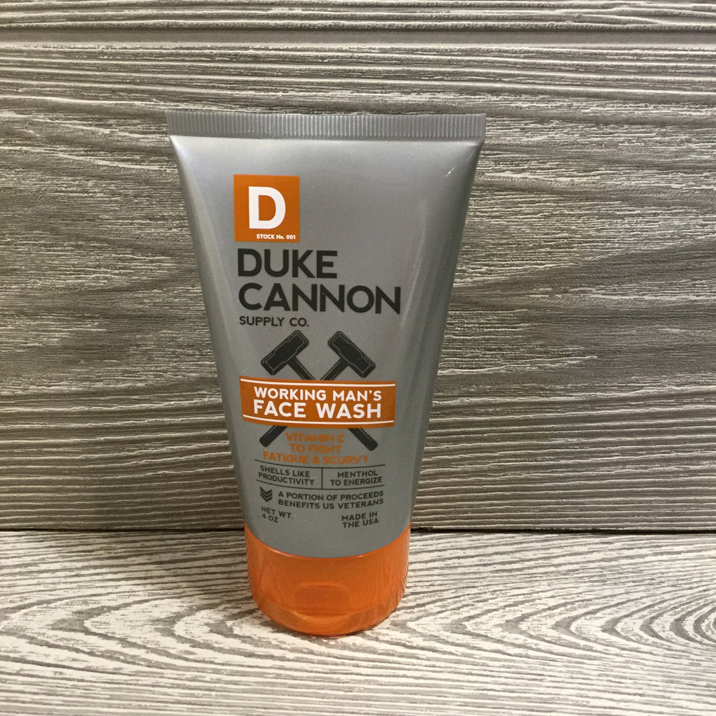 Duke Cannon, Working Man's Face Wash