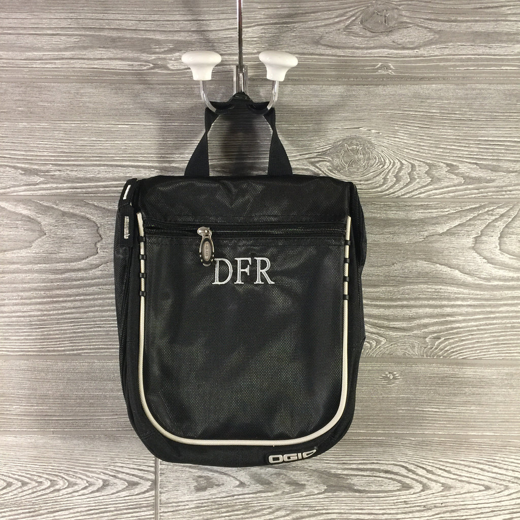 Dopp Kit, Ogio Brand, Black Hanging Toiletry Bag