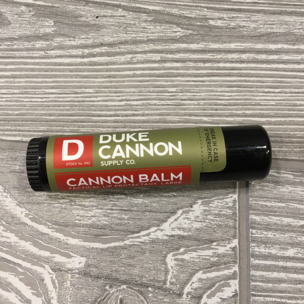 Duke Cannon Lip Balm, 2 Flavors