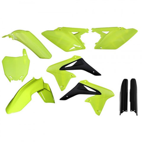 FULL KIT PLASTIC RMZ 450 08 -17 - FLO YELLOW