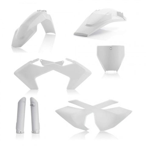 FULL PLASTIC KITS HUSQVARNA TC/FC 16-18 (NO TC 250 16) - WHITE