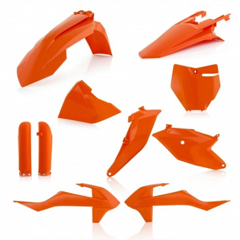 FULL KIT PLASTIC KTM SX 85 2018/2021 - ORANGE