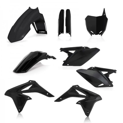FULL KIT PLASTICS RMZ 250 2010-2018 - BLACK