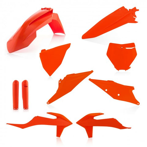 FULL KIT PLASTIC KTM SX/SXF 19-20 - ORANGE