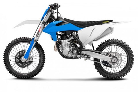 FULL KIT PLASTIC KTM SX/SXF 19-20 - WHITE/BLUE