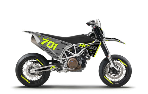 701 FLUO GRAPHICS KIT ''BASED FLO 701'' DESIGN