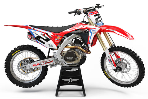 HONDA GRAPHICS KIT ''HRC BASIC'' DESIGN