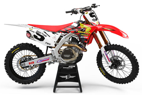 HONDA GRAPHICS KIT ''McGRATH STYLE'' DESIGN