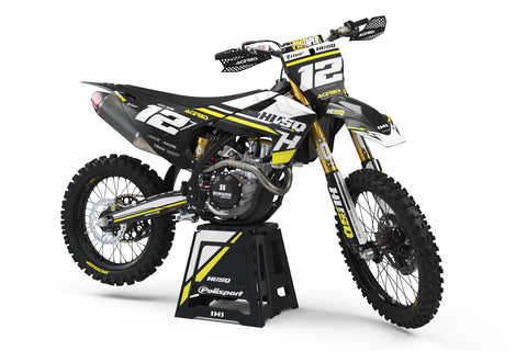 FULL GRAPHICS KIT FOR HUSQVARNA ''SERENITY'' DESIGN