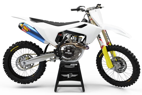 FULL CUSTOM GRAPHICS KIT FOR HUSQVARNA