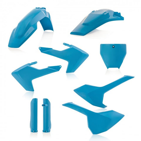FULL PLASTIC KITS HUSQVARNA TC/FC 16-18 (NO TC 250 16) - LIGHT BLUE
