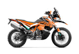 FULL GRAPHICS KIT FOR KTM ADVENTURE 790 2018-2021 ''EAGLE'' DESIGN