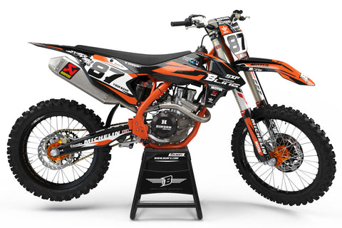 FULL GRAPHICS KIT FOR KTM ''AERODINAMIC'' DESIGN