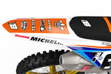FULL GRAPHICS KIT FOR KTM ''SHARP'' DESIGN